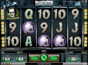 Frankenstein slotmaskinen SS-03