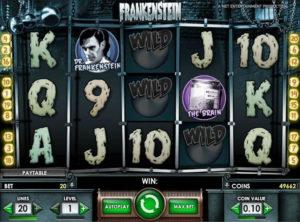 Frankenstein slotmaskinen SS-04