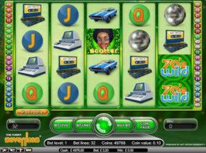Funky Seventies slotmaskinen SS-01
