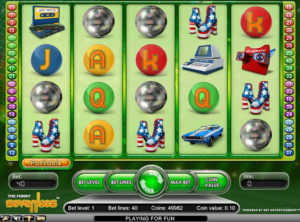 Funky Seventies slotmaskinen SS-02