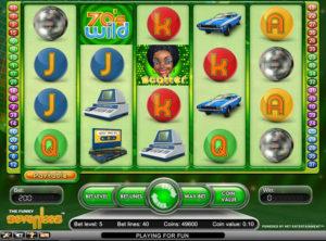 Funky Seventies slotmaskinen SS-03