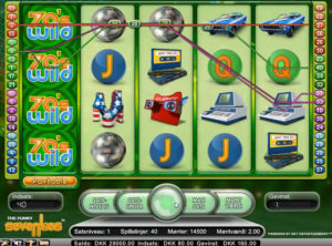 Funky Seventies slotmaskinen SS-05