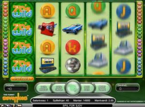 Funky Seventies slotmaskinen SS-07
