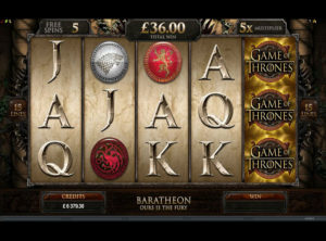 Game Of Thrones Slot - Screenshot 2