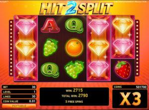 Hit 2 Split slotmaskinen SS-01
