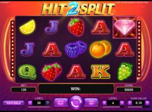 Hit 2 Split slotmaskinen SS-02
