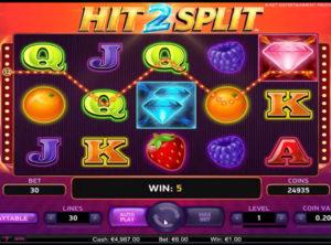 Hit 2 Split slotmaskinen SS-04