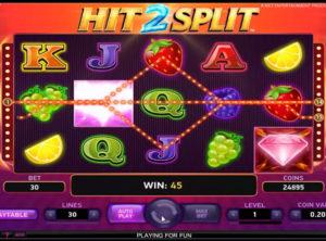 Hit 2 Split slotmaskinen SS-05