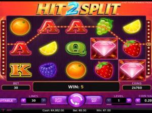 Hit 2 Split slotmaskinen SS-06
