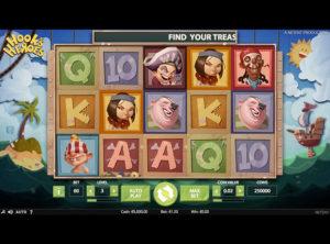 Hook's Heroes slotmaskinen SS-05