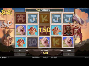 Hook's Heroes slotmaskinen SS-07
