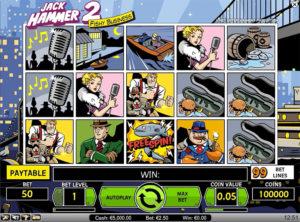 Jack Hammer2 slotmaskinen SS 3