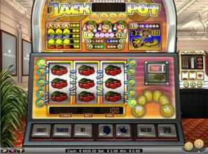 Jackpot 6000 slotmaskinen SS-01