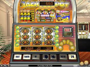 Jackpot 6000 slotmaskinen SS-04