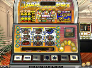 Jackpot 6000 slotmaskinen SS-05
