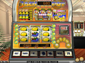 Jackpot 6000 slotmaskinen SS-06