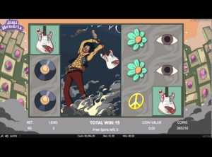Jimi Hendrix slotmaskinen SS-01