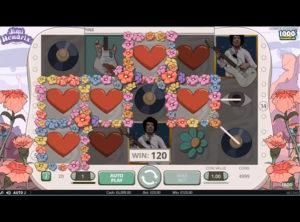 Jimi Hendrix slotmaskinen SS-04