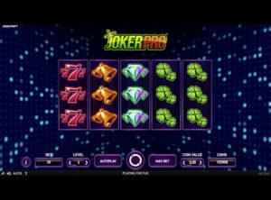 Joker Pro slotmaskinen SS-06