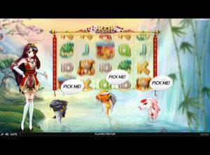 Koi Princess slotmaskinen SS-04