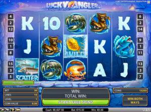 Lucky Angler slotmaskinen SS 1