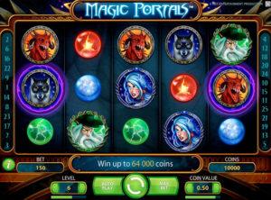 Magic Portals slotmaskinen SS-04