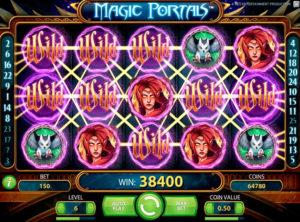 Magic Portals slotmaskinen SS-06