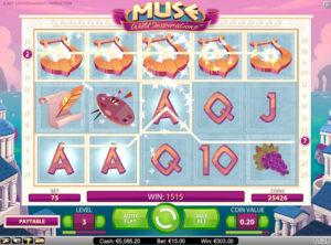 Muse Wild Inspiration slotmaskinen SS-01