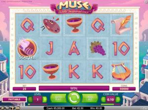 Muse Wild Inspiration slotmaskinen SS-04