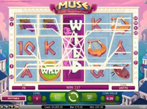 Muse Wild Inspiration slotmaskinen SS-06