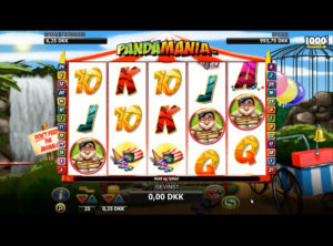 Pandamania slotmaskinen SS-01