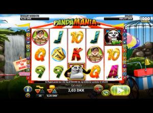 Pandamania slotmaskinen SS-02