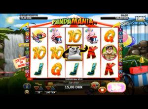 Pandamania slotmaskinen SS-03