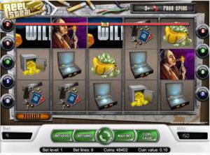 Reel Steal slotmaskinen SS-01