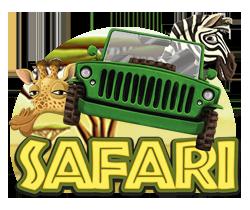 Safari Spilleautomat - logo