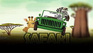 Safari Spilleautomaten - Her kan du spille automaten