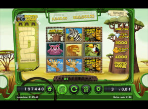 Safari Spilleautomaten SS