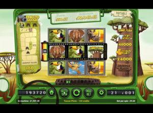 Safari Spilleautomaten SS 5