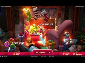 Secrets of Christmas slotmaskinen SS-01