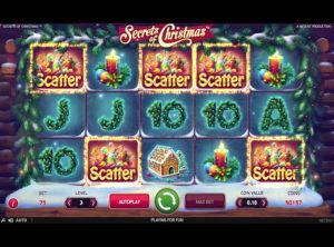 Secrets of Christmas slotmaskinen SS-05