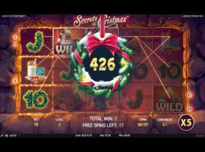 Secrets of Christmas slotmaskinen SS-07