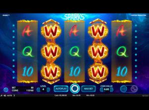 Sparks slotmaskinen SS-02