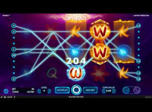 Sparks slotmaskinen SS-04