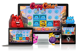 Copy Cats spil på mobil og tablet