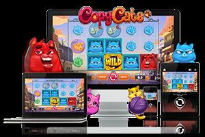 Copy Cats spil på mobil og tablet