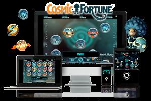 Cosmic Fortune spil på mobil og tablet