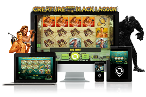 Creature from the black lagoon spil på mobil og tablet