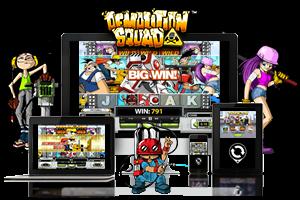 Demolition Squad spil på mobil og tablet