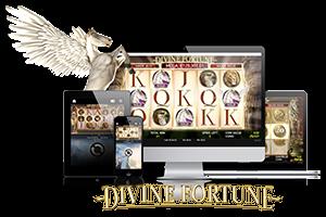 Divine Fortune spil på mobil og tablet