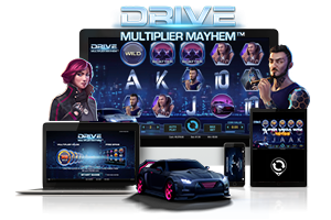 Drive multiplier mayhem spil på mobil og tablet
